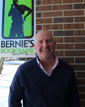 Brian Floriani, founder of Bernie's Book Bank